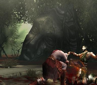 更加血腥 《战神2》公布多张游戏画面