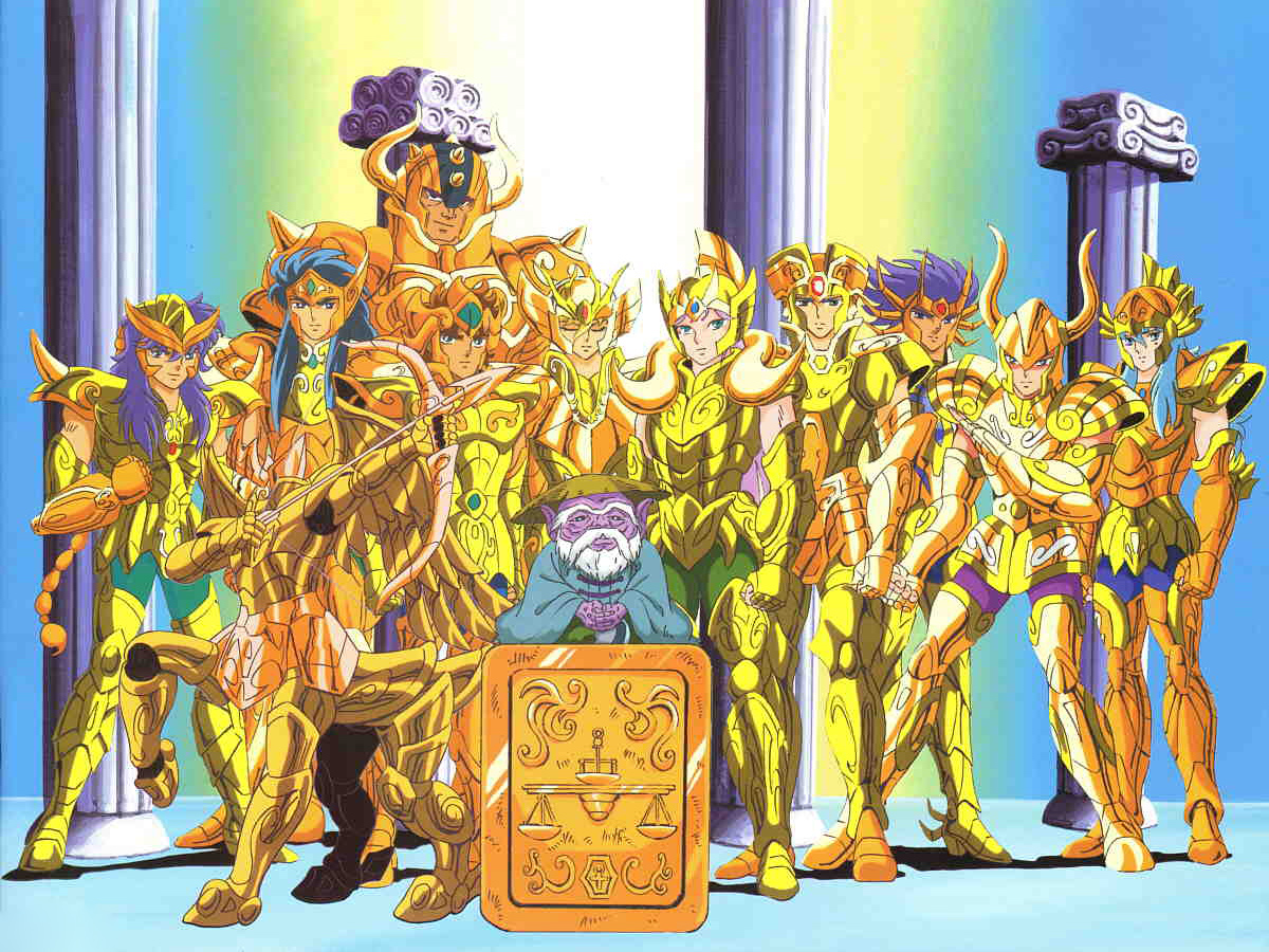 【原始大图】圣斗士热血再燃 盘点笔记本黄金十二宫
