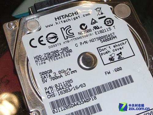 日立500GB本盘
