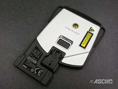 可收纳进expresscard槽 卡片型鼠标登场