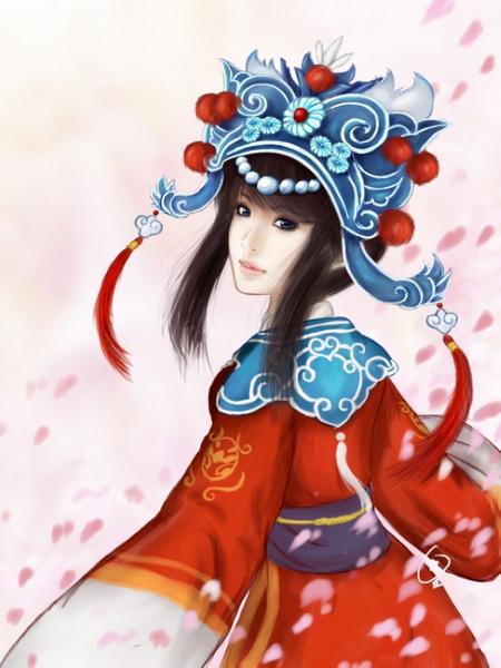 【高清图】 《梦幻西游》玩家手绘绝美同人画图1