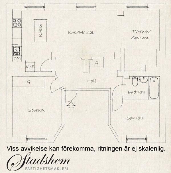 78平米小公寓 瑞典现代住宅家居设计