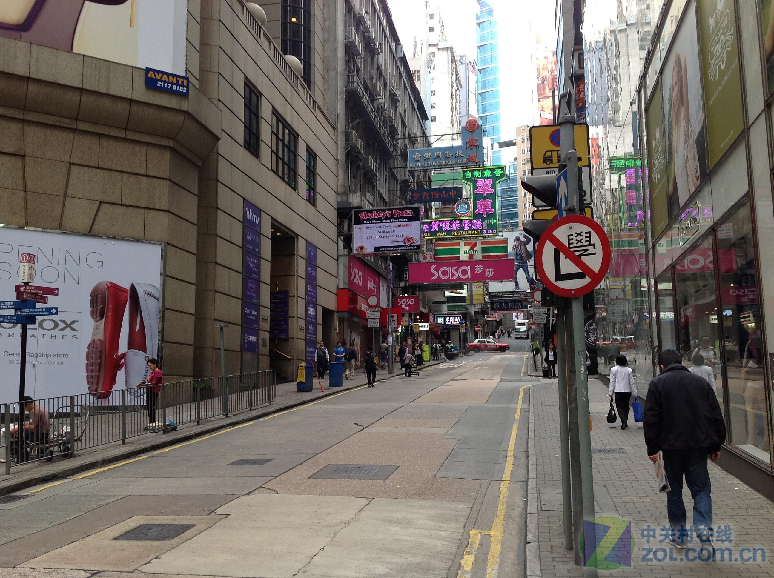 摄像头全面升级 新ipad香港街拍样张