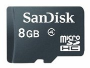 闪迪 移动microSD存储卡(8GB)