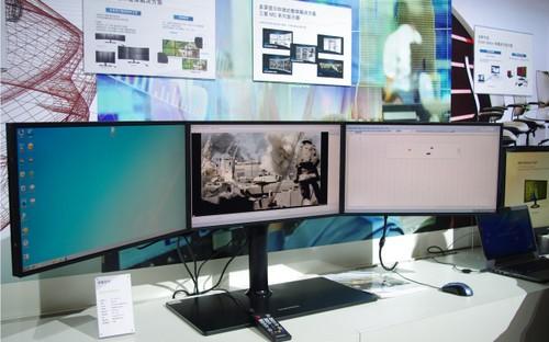 安防监控集成商首选三星MD230液晶拼接方案