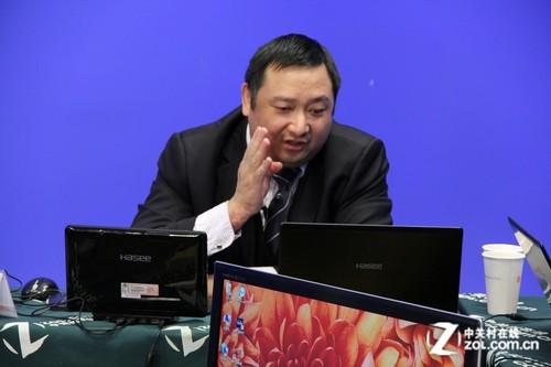 神舟吴海军:i7平板 未来拿iPad弱智