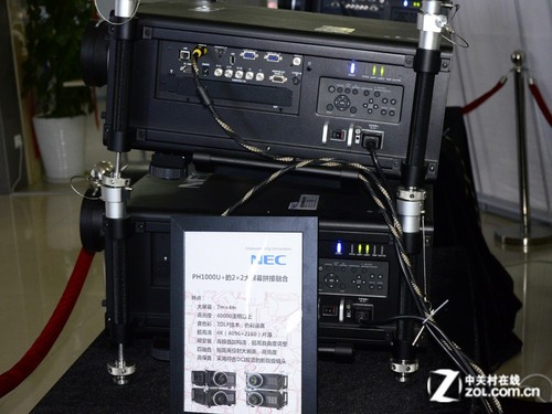 infoComm2012:NEC普及1080p大屏拼接