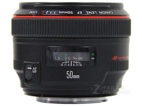 佳能EF 50mm f/1.2L USM侧面