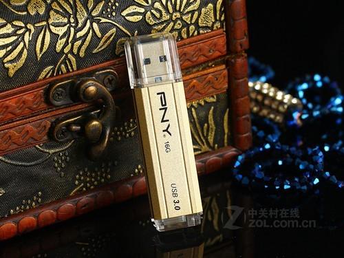 U盘PNY 金棒盘(32GB)外观