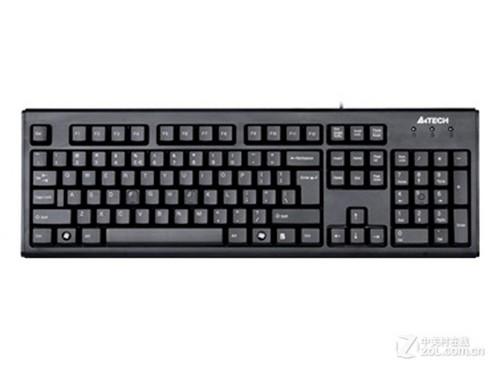 简约朴实 双飞燕WK-100有线键盘简评