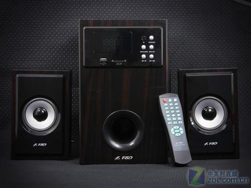 全功能2.1配置 奋达A555U音箱新品图赏