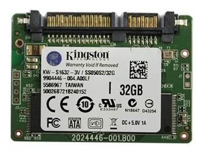 金士顿 S50系列 SATA2 32GB(KW-S1632-3V)