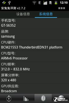 神似迷你S III 千元联通版三星S6352评测