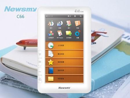 全功能电子书,Newsmy C66震撼你的双眸!