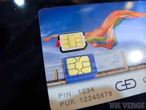 nano-SIM卡