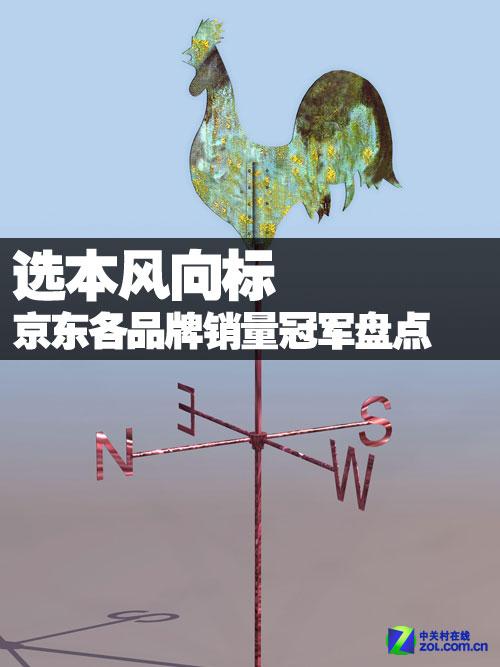 2012京東商城各品牌筆記本銷量冠軍