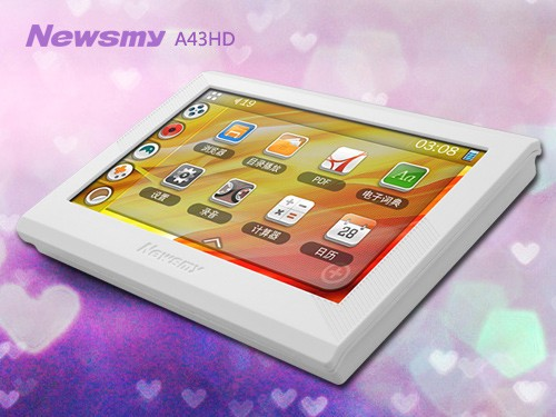 随身娱乐设备首选 Newsmy A43HD惊喜价199元!