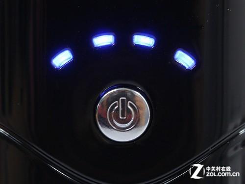 四个蓝色led电量指示灯