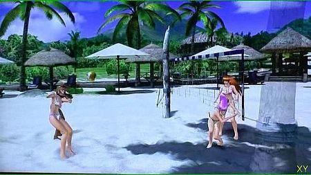 死或生 沙滩排球2 实际游戏画面演示