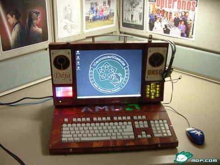 豪华全木制结构 台式机diy手提电脑图解_diy攒机硬件
