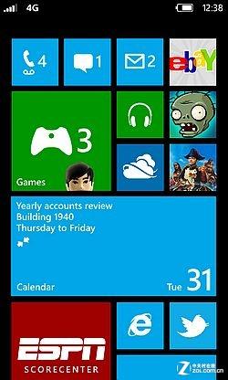 Windows Phone 8全新开始屏幕抢先赏析