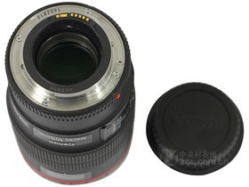 佳能EF 100mm f/2.8L IS USM微距底部镜头盖组合