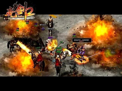 图、战骑系统、人马合一系统、骑战技能等全新玩法.《亮剑2》的骑