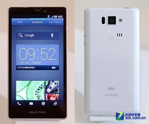 支持FeliCa+NFC au夏普新机搭载全新UI