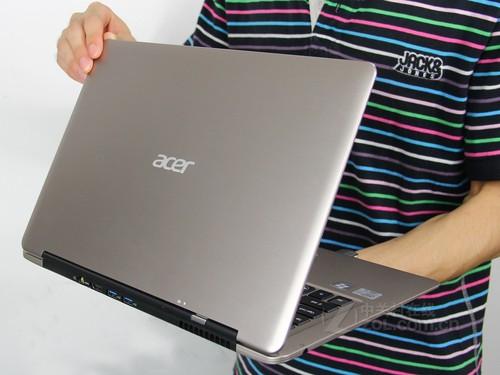 Acer S3-391香槟色 外观图
