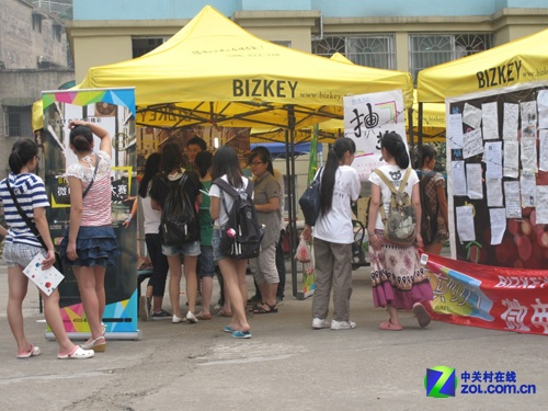 BIZKEY微电影大赛校园行活动引爆长沙