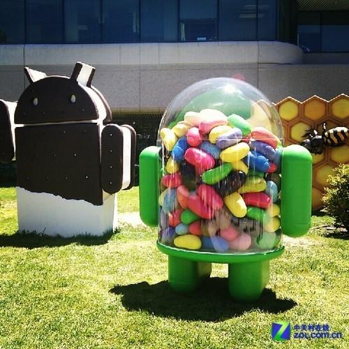 造势Google I/O Googleplex惊现果冻豆