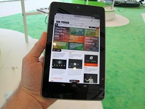谷歌看走了眼 16GB版的Nexus 7更畅销