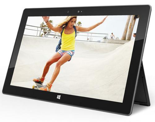 传微软正开发第二代Surface平板电脑