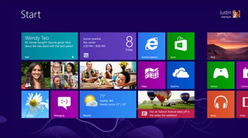 微软Win8 RTM版禁止用户绕过Metro界面