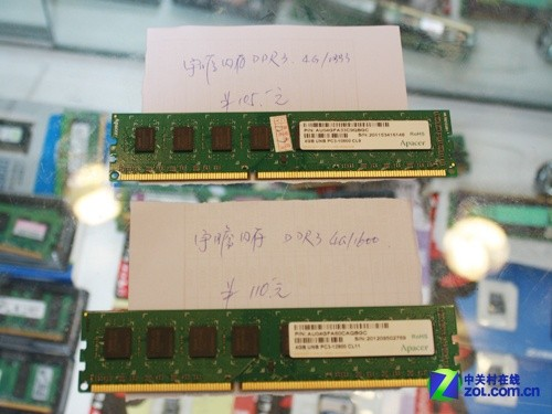 内存崩盘 实战单条4GB/8GB装机谁强?