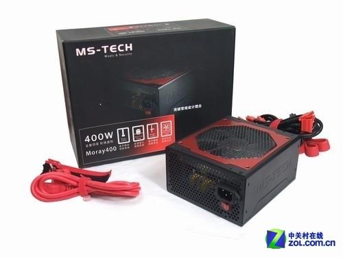 电源有创意 MS-TECH Moray400首发图赏