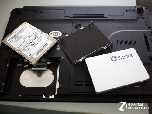 笔记本拆卸硬盘后