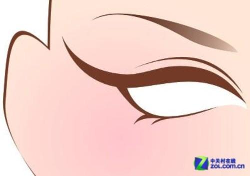coreldraw鼠绘教程 绘制人物眼睛矢量图 原创
