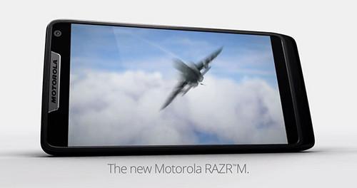 采用英特尔芯片 摩托RAZR M本月登陆欧洲