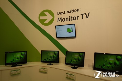 3D/WiFi/TV! Acer发布多款新品显示器