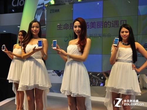 双核女性智能机 中兴N8010于通信展发布