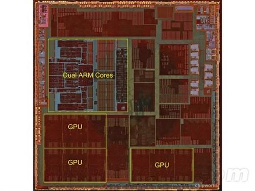 苹果A6构造探秘:ARM核心原是手工布局
