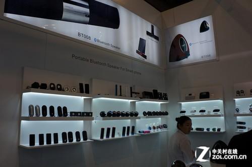 2012香港电子展:卡农多款音响齐上阵