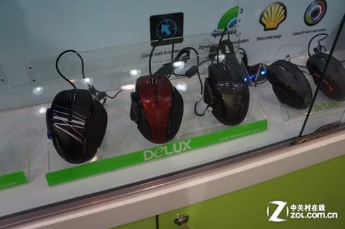 2012香港电子展:多彩鼠标和音箱参展