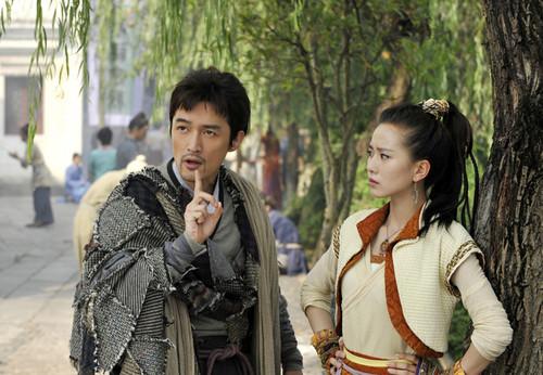 胡歌刘诗诗代言 天龙八部资料片25日公测