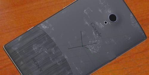 造假可恨! 索尼Nexus X手机实为伪造图