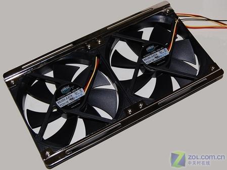 CPU风扇也玩双核 超强纯铜散热器上市
