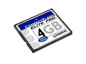 金士顿高速CF卡(4GB)