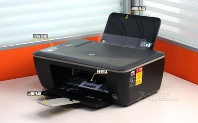 HP 2520hc 部件介绍图