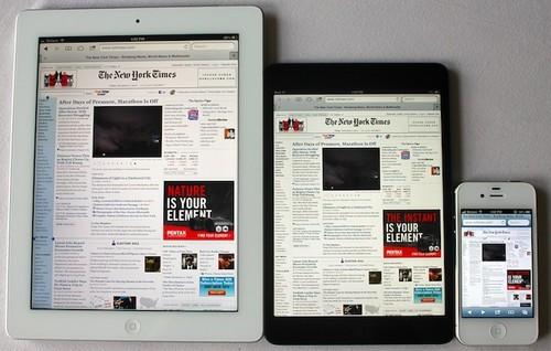 传苹果明年3月发布iPad 5 设计更轻薄